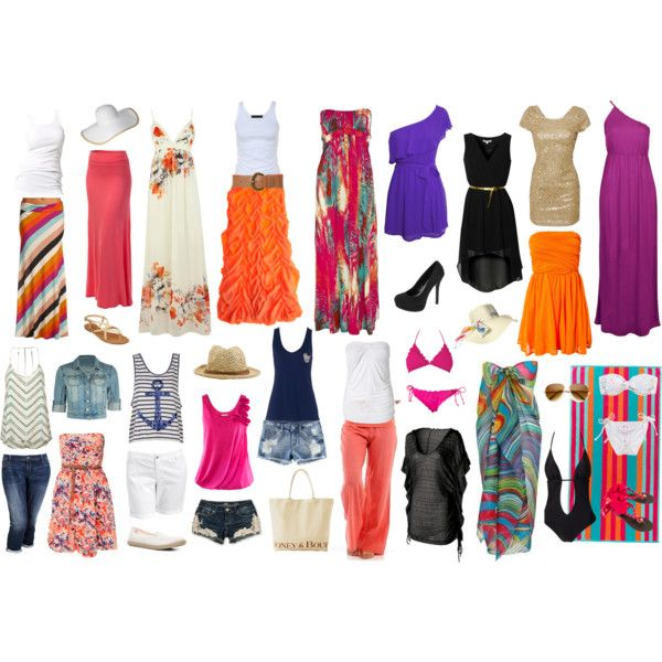 Caribbean Cruise Outfit Guide (7 nights). Includes ideas for shore ...