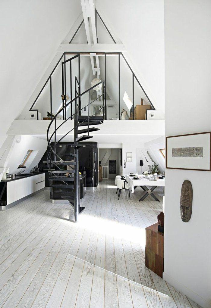 40 photos pour comment choisir son parquet appartement avec petit grenier loft moderne et