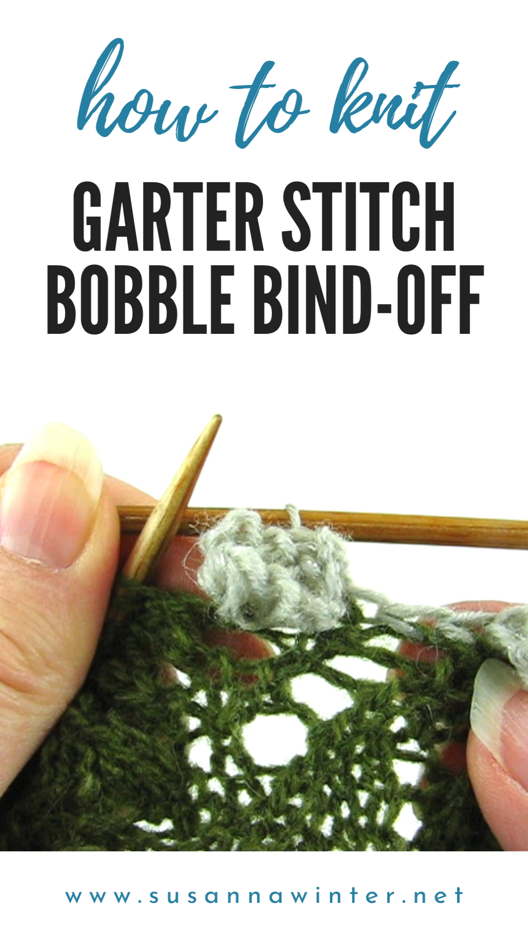 Photo of How to Knit Garter Stitch Bobble Bind-off :: talvi knits.