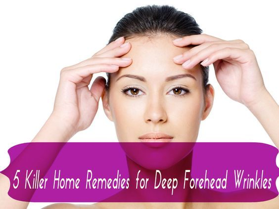 remove forehead wrinkles naturally with home remedies and forehead