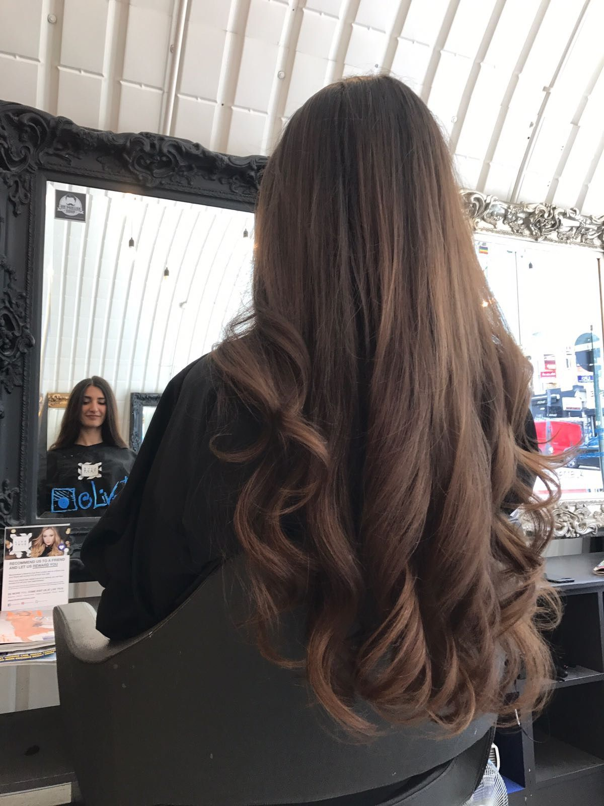 Beautiful blow dry at clapham blow dry hair curls