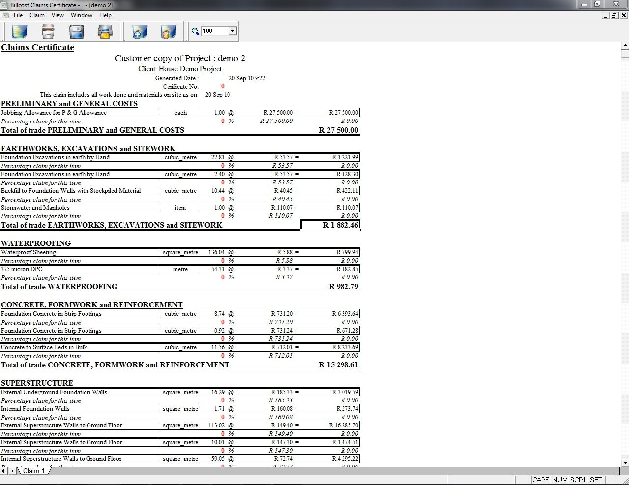 Formwork Design Spreadsheet Di