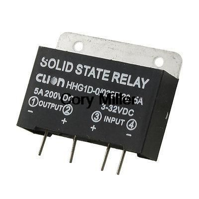 Jgx 5fa Pcb Mount Dc To Dc Solid State Relay