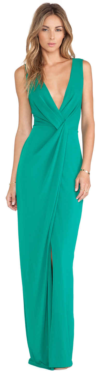 Drape Front Halston Heritage Party Dresses Pinterest