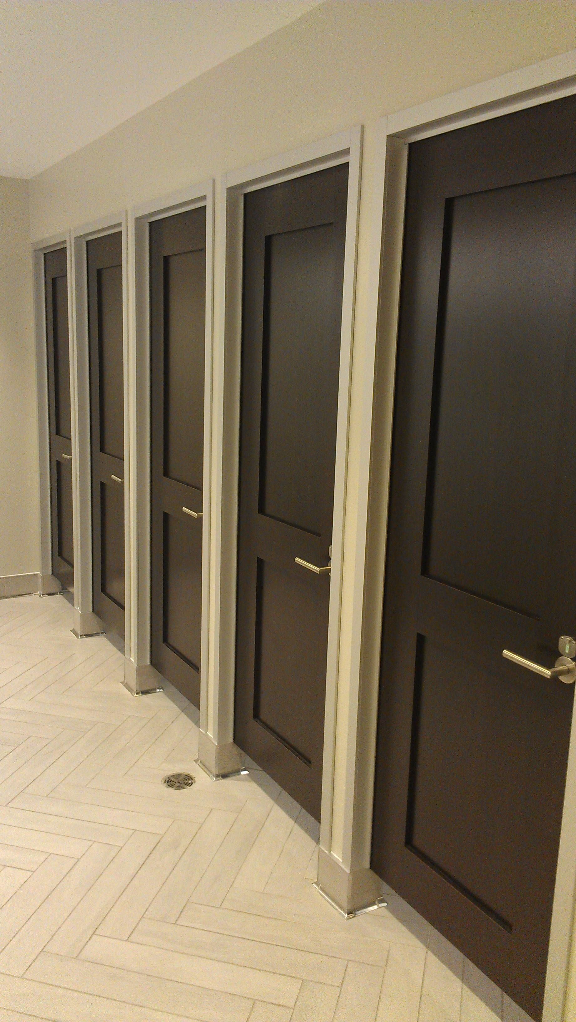 Luxury toilet stalls google search hale building for Bathroom partitions