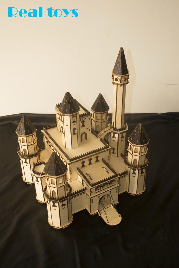 Diy Wood Play Castle Google Search Model Castle Fairytale