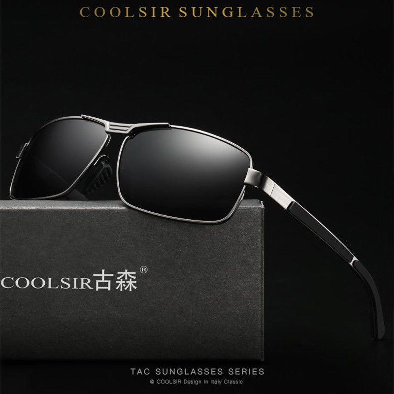 6df494fa3bad Men Women Polarized HD Sunglasses Square Full Frame Driving Glasses Shade  Mirror: $9.49 End Date