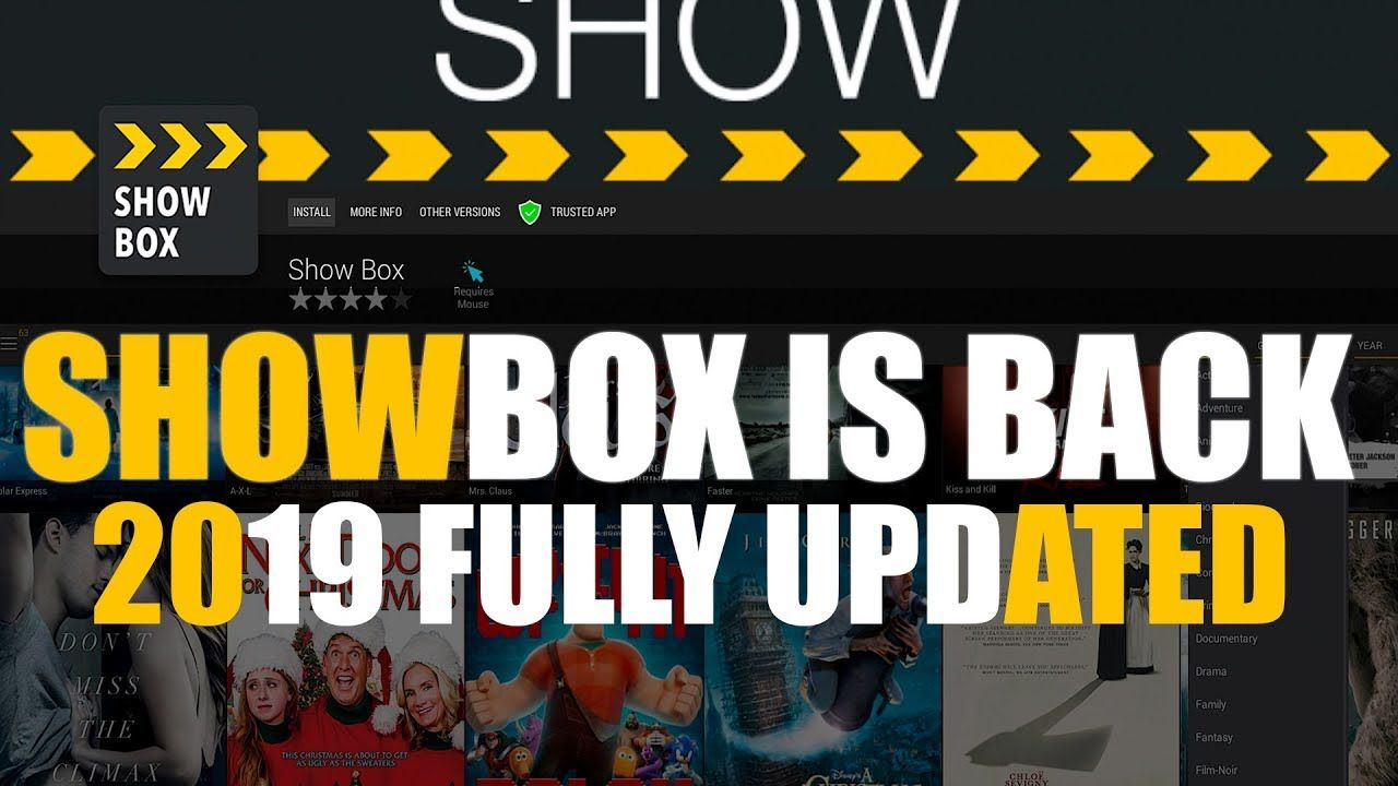 SHOWBOX IS BACK FOR 2019 FULLY UPDATED (With images) Me