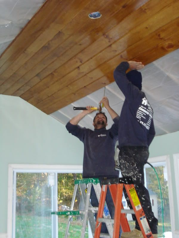 Knotty Pine Ceiling Planks Google