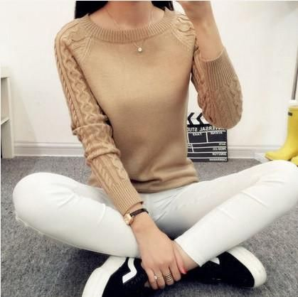 Women's Pullovers Cashmere O-Neck sweater