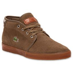 Lacoste Men's Casual Shoes Ampthill Field Dark Khaki