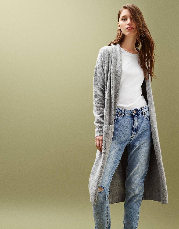 Veste en jean femme bershka
