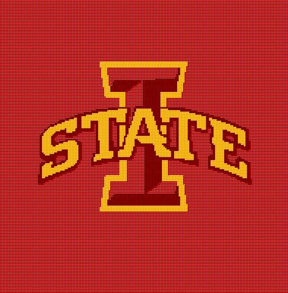 5 Iowa State University Crochet Blanket Pattern Cyclones