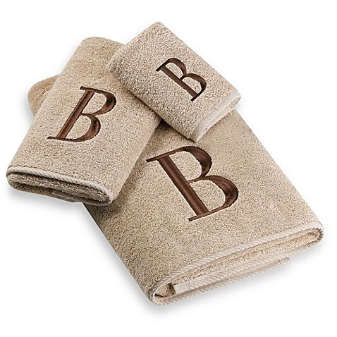 Classic And Sophisticated These Monogrammed Towels Will Add That