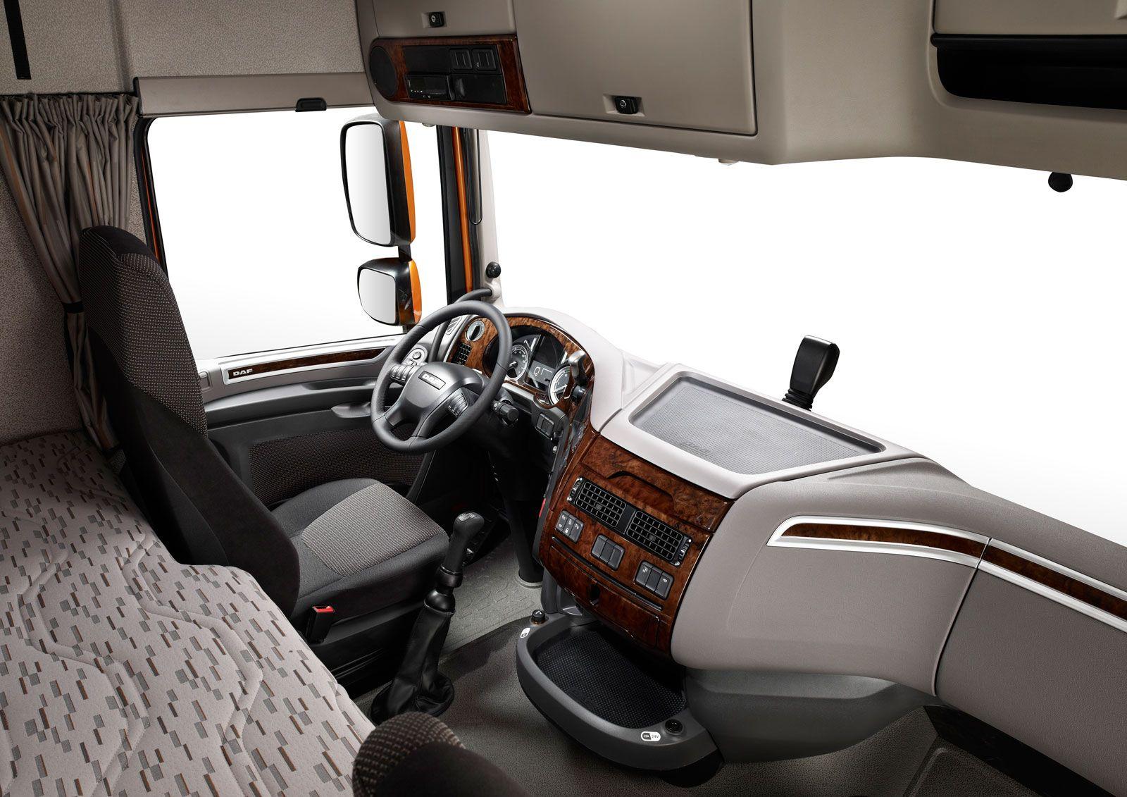 DAF XF Interior | trucks and buses | Suv trucks, Kenworth