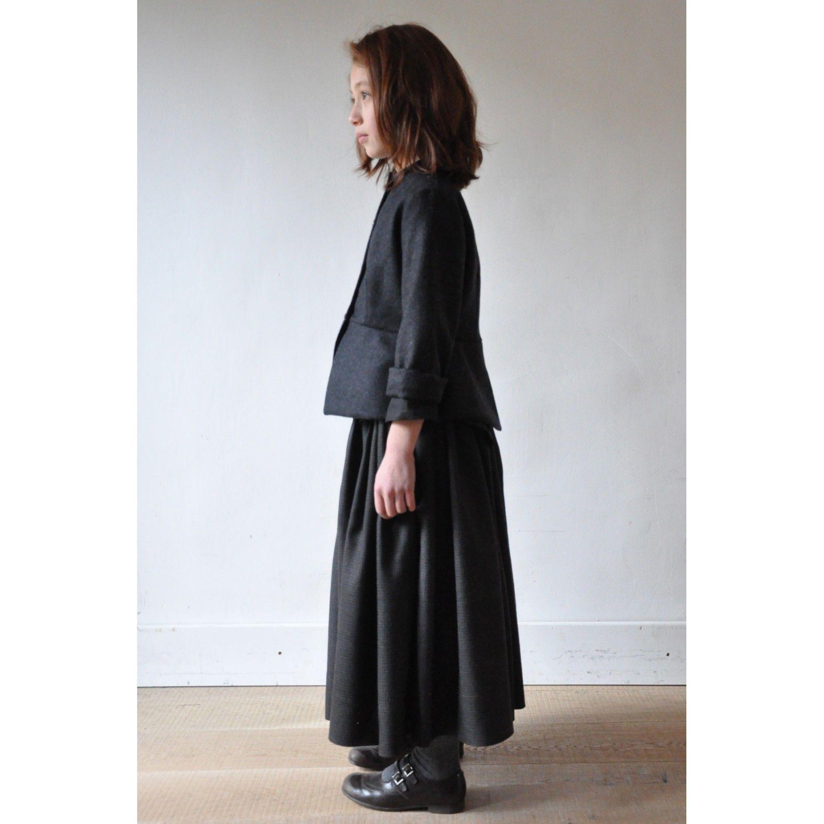 """Dans le calendrier de l'Avent le 16 décembre: la veste """"femme"""" en drap gris à -40%"""