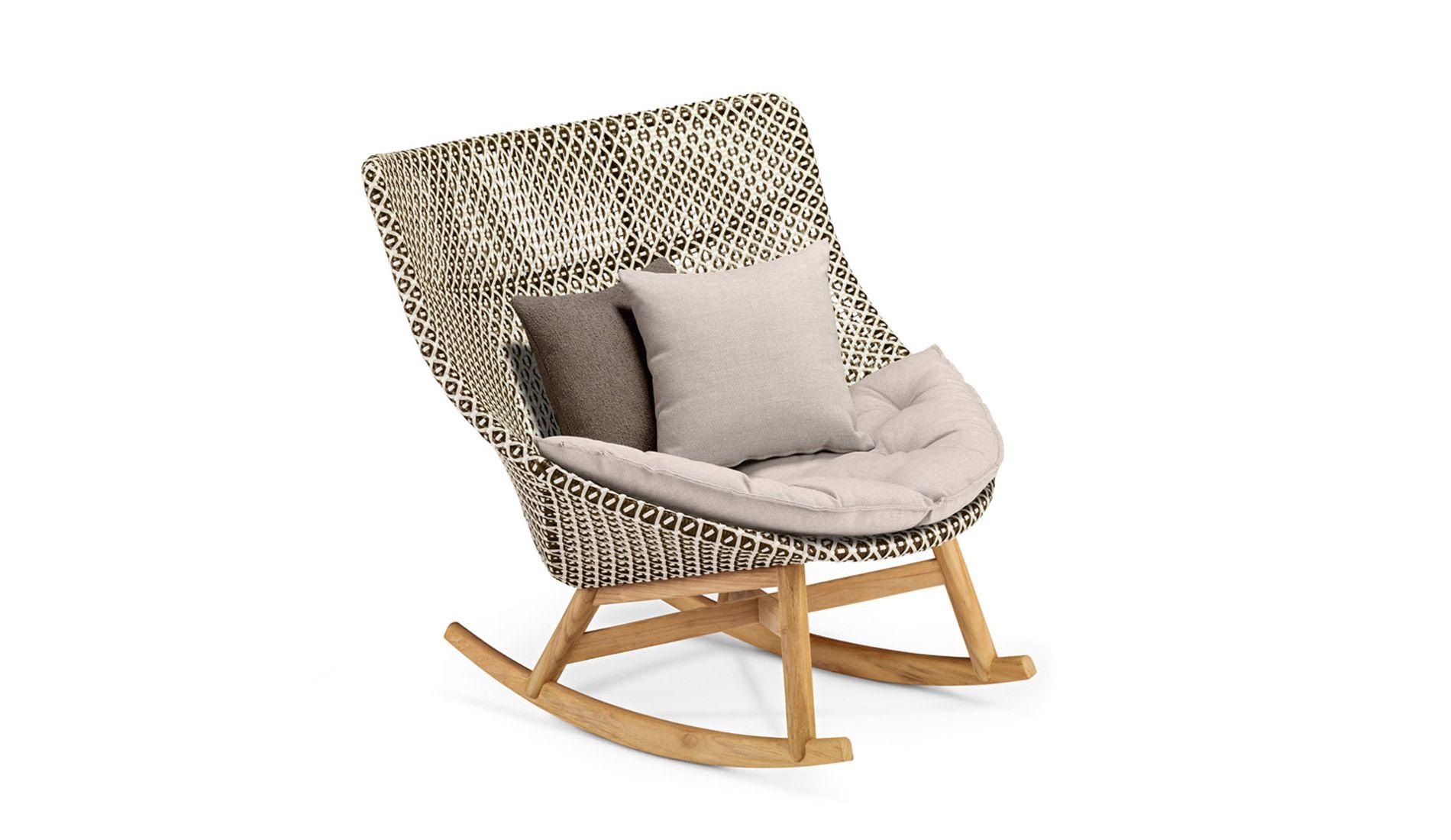 Dedon Mbrace Schaukelstuhl Rocking Chair Chair Outdoor