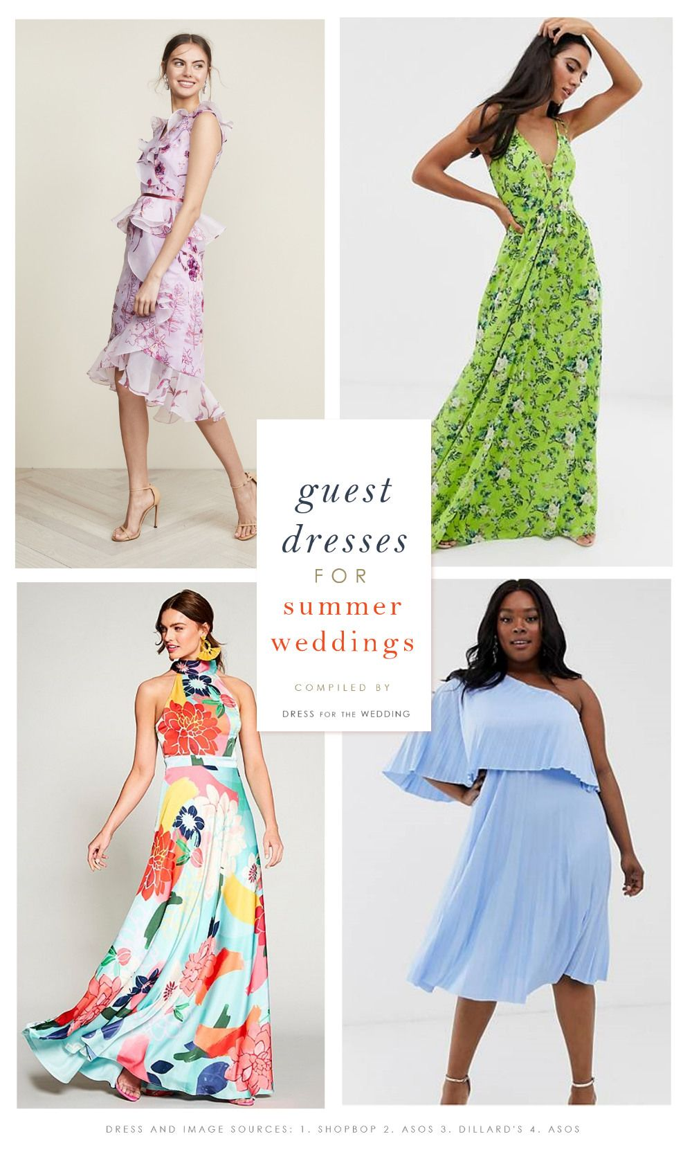 The Best Summer Dresses To Wear To Summer Weddings Summer Wedding Guest Dresses For Wedding Guest Dress Summer Wedding Guest Dress Styles Wedding Guest Dress
