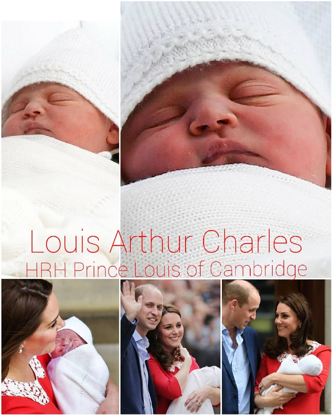 LOUIS ARTHUR CHARLES He will be known as His Royal Highness Prince ...