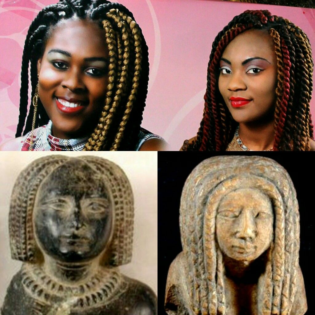 Box Braids And Twists In Ancient Egypt Box Braids And Twists Today African Hair History Egyptian Hairstyles Ancient Egypt