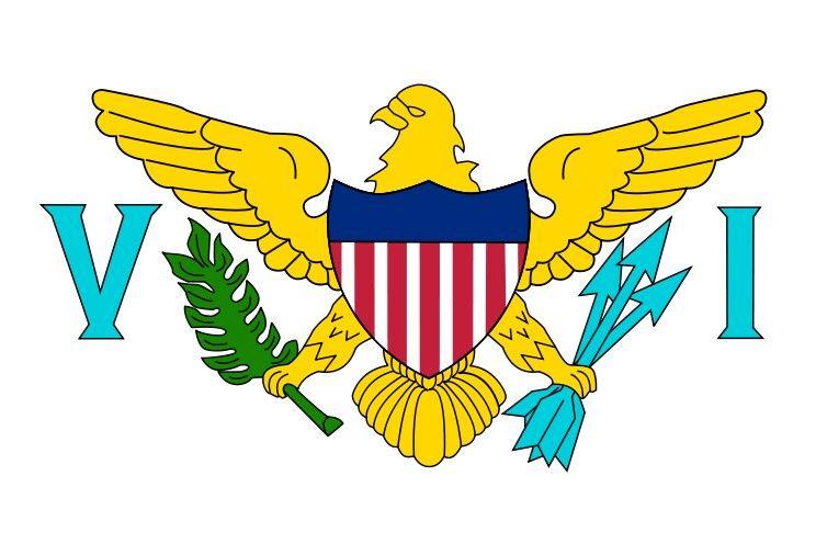 Virgin Islands Flag United States Virgin Islands Virgin Islands Flag Us Virgin Islands