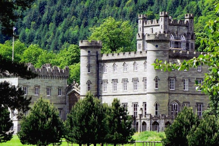 Taymouth Castle, Highlands of Scotland