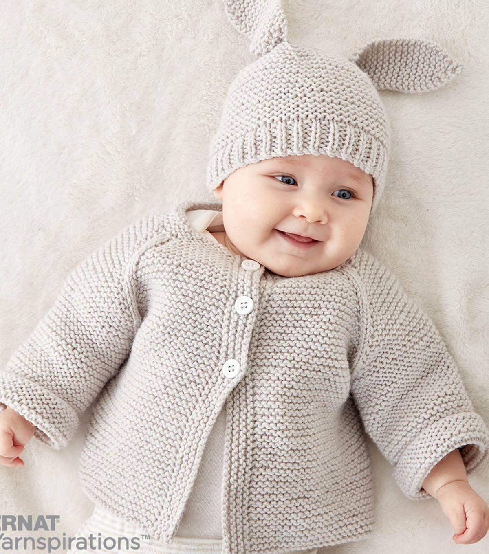 Make A Knit Baby Jacket Setnull | punto | Pinterest | Proyectos de ...