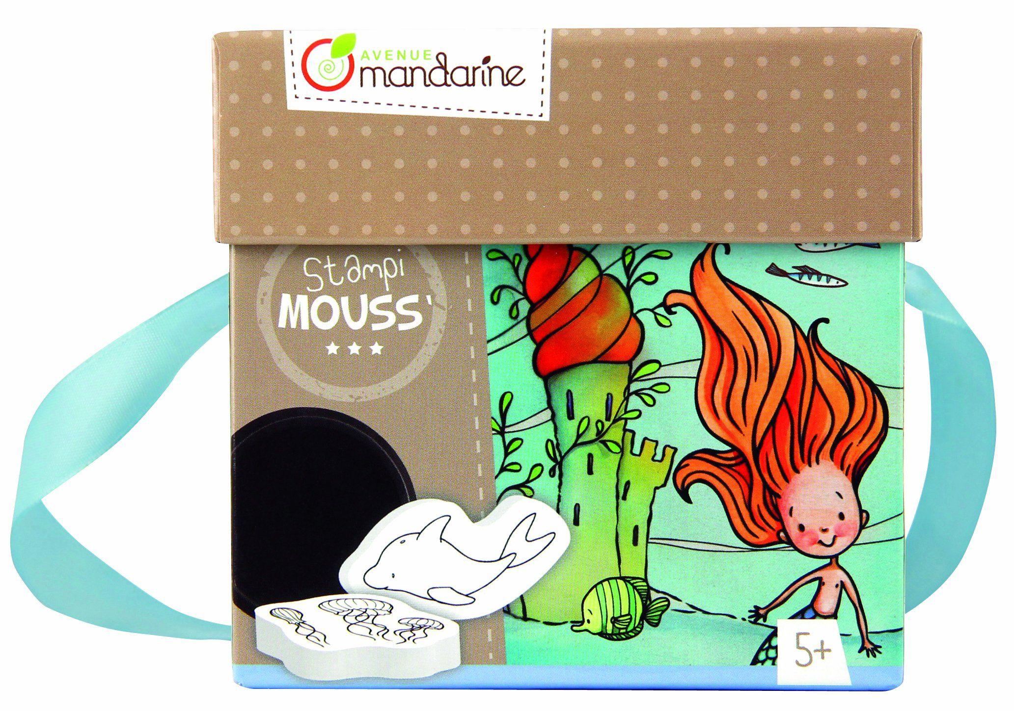 Avenue Mandarine 52575O - Stampi Mouss Meerjungfrauen