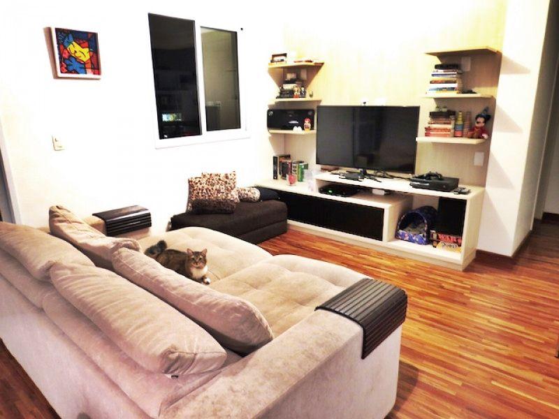 #Apartamento em Condomínio Clube na #VilaAndrade com 2 suítes, charmosa #varanda #gourmet, sala #ampliada e cozinha #americana com #ilha e coifa #industrial!