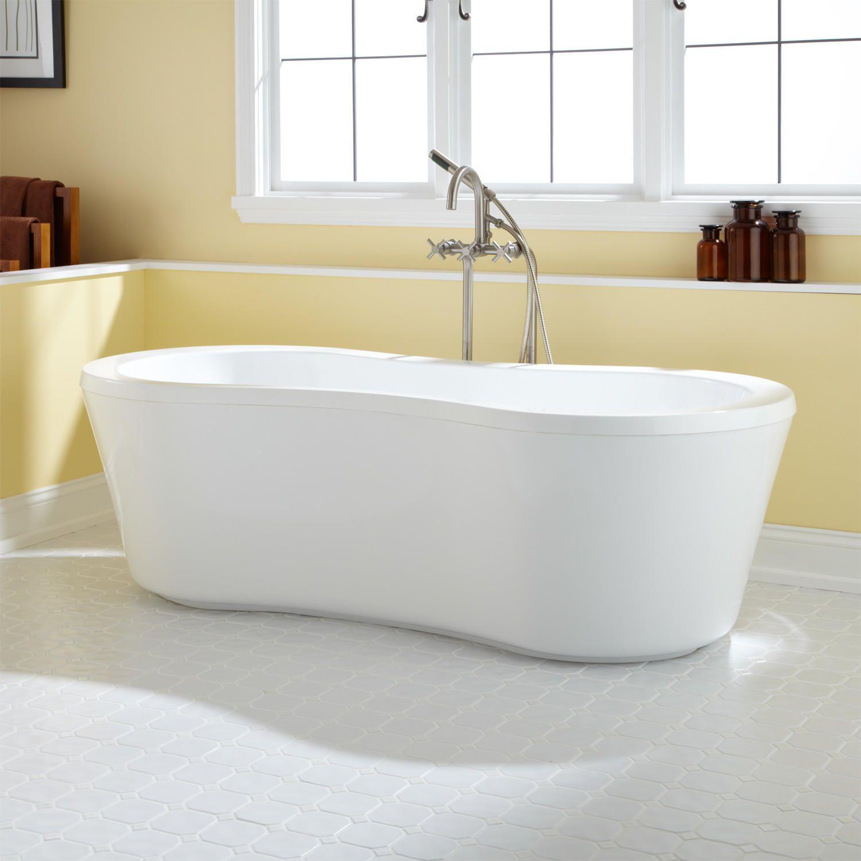 69 Gia Acrylic Freestanding Tub