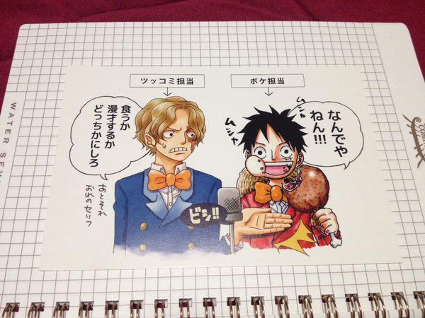 Sabo & Luffy