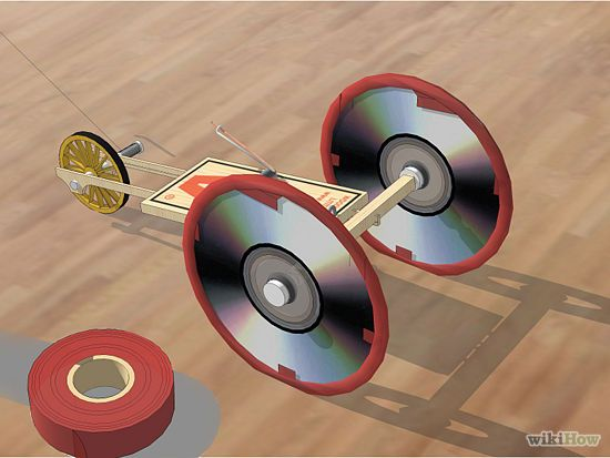 Adapt A Mousetrap Car For Distance Mousetrap Car Balloon Cars Physics Projects