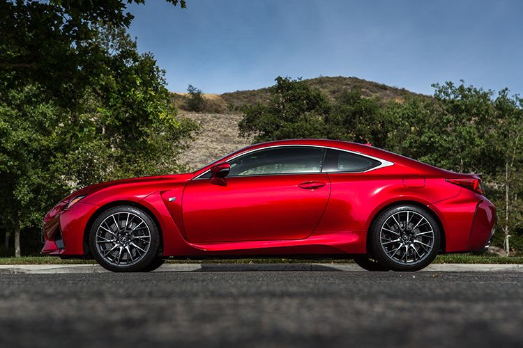 2016 RC F Restrained Aggression, Courtesy Of Lexus