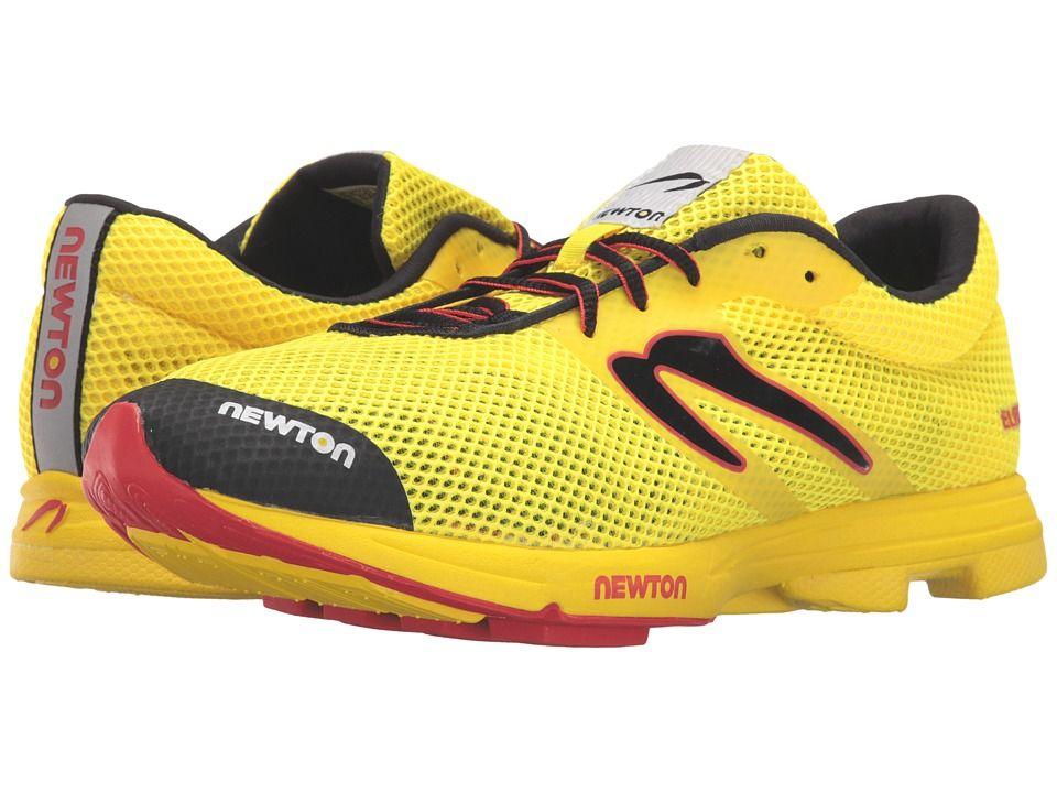 Newton Running Distance Elite Men's Running Shoes Yellow/Red