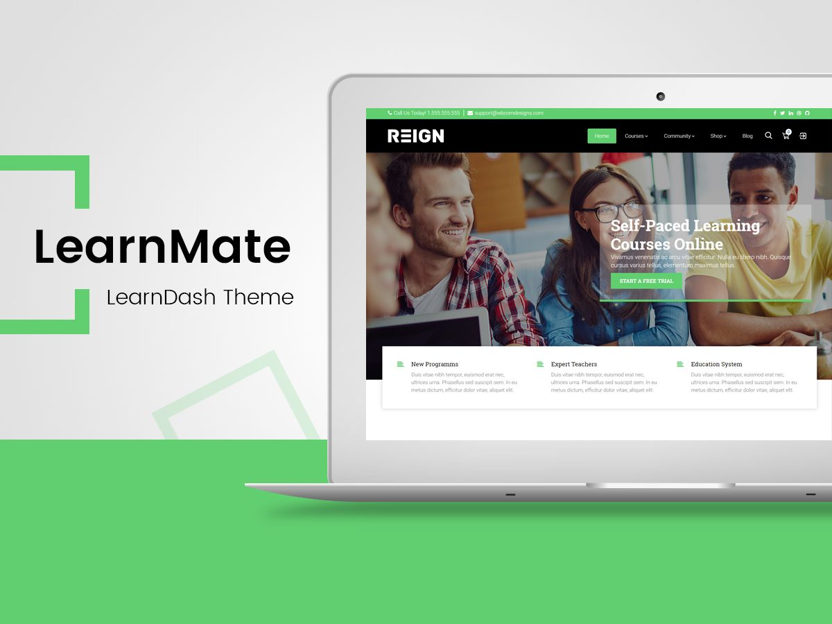LearnMate - Learndash Theme in 2019 | Themes | Wordpress