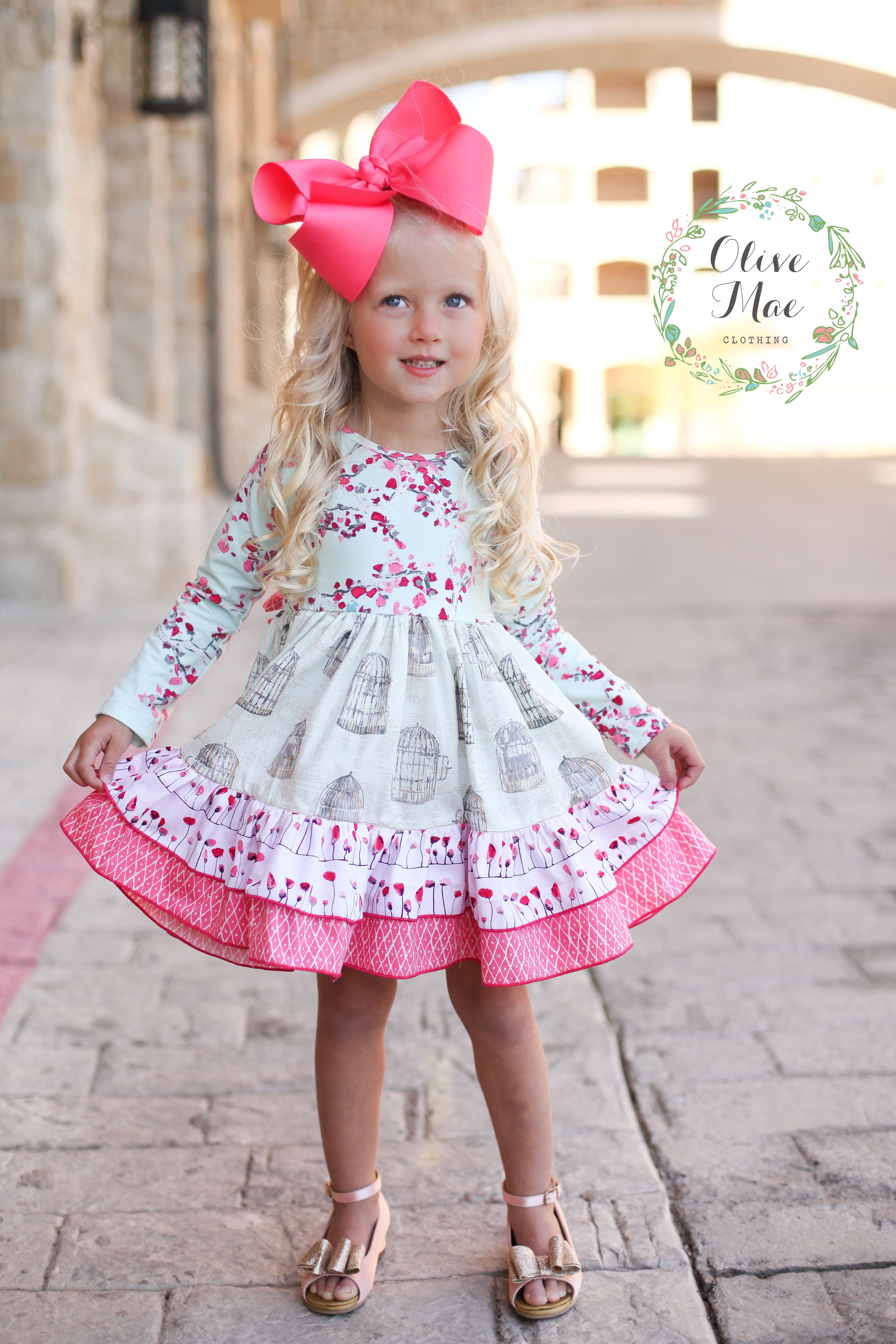A little girls dream boutique Olive Mae Clothing