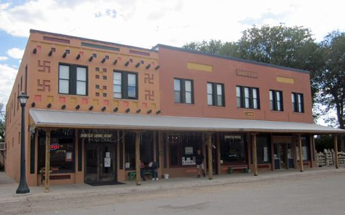 The Famous Shaffer Hotel In Mountainair Nm Built By Clem Pop