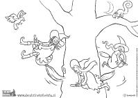 Kleurplaten Heks Foeksia.Kleurplaat Foeksia De Miniheks Heksen Sketches Halloween En Vans