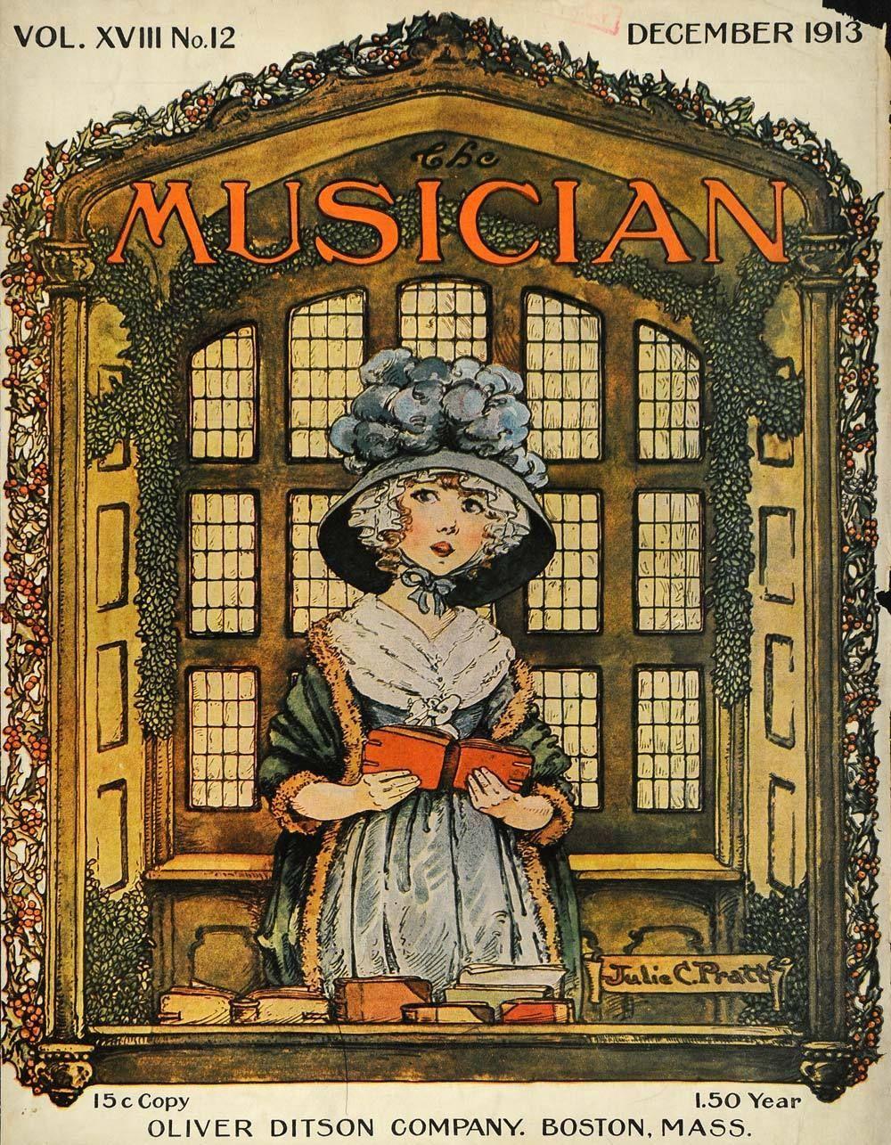 Musician Christmas Girl Singing