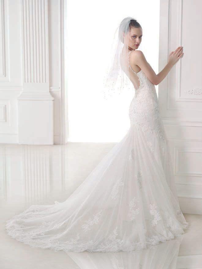 Marilia esküvői ruha - Pronovias 2015 kollekciók - Esküvői ruha szalon -  Menyasszonyi ruha kölcsönzés 1046a52245