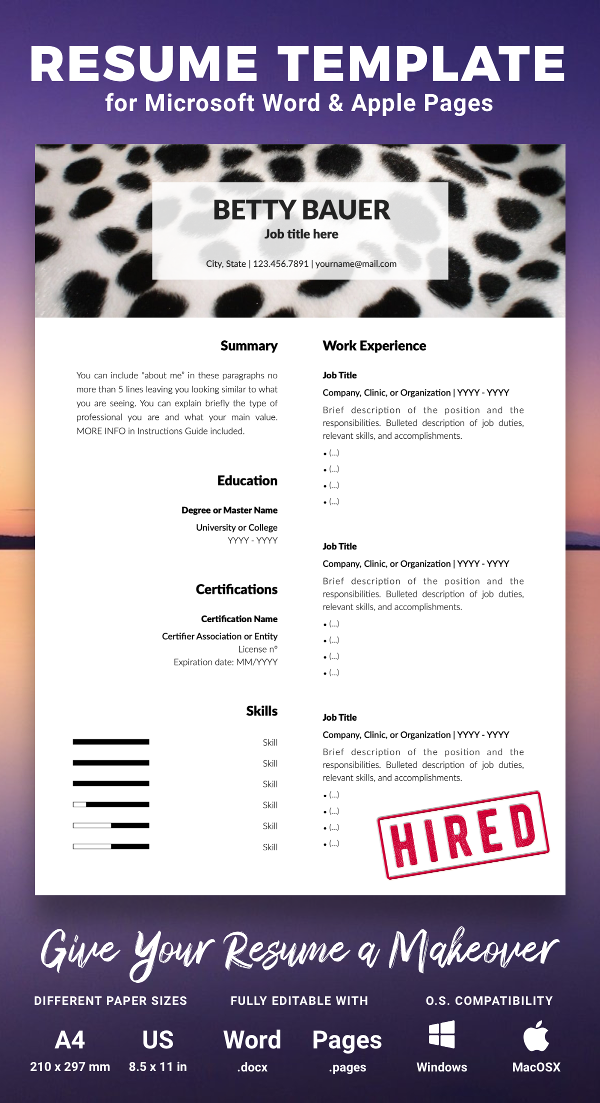 Everything Happens For A Reason It S Time To Stand Out From The Crowd Visit Our Shop And Find Your Reason Resume Template Reference Letter Template Words