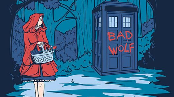 Doctor Who Little Red Riding Hood