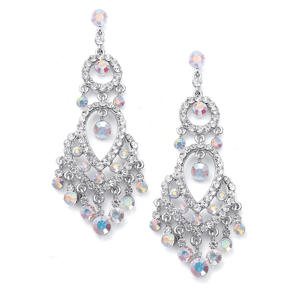 Prom Jewelry | Beautiful chandelier earrings – WeddingSparkles.com, your choice
