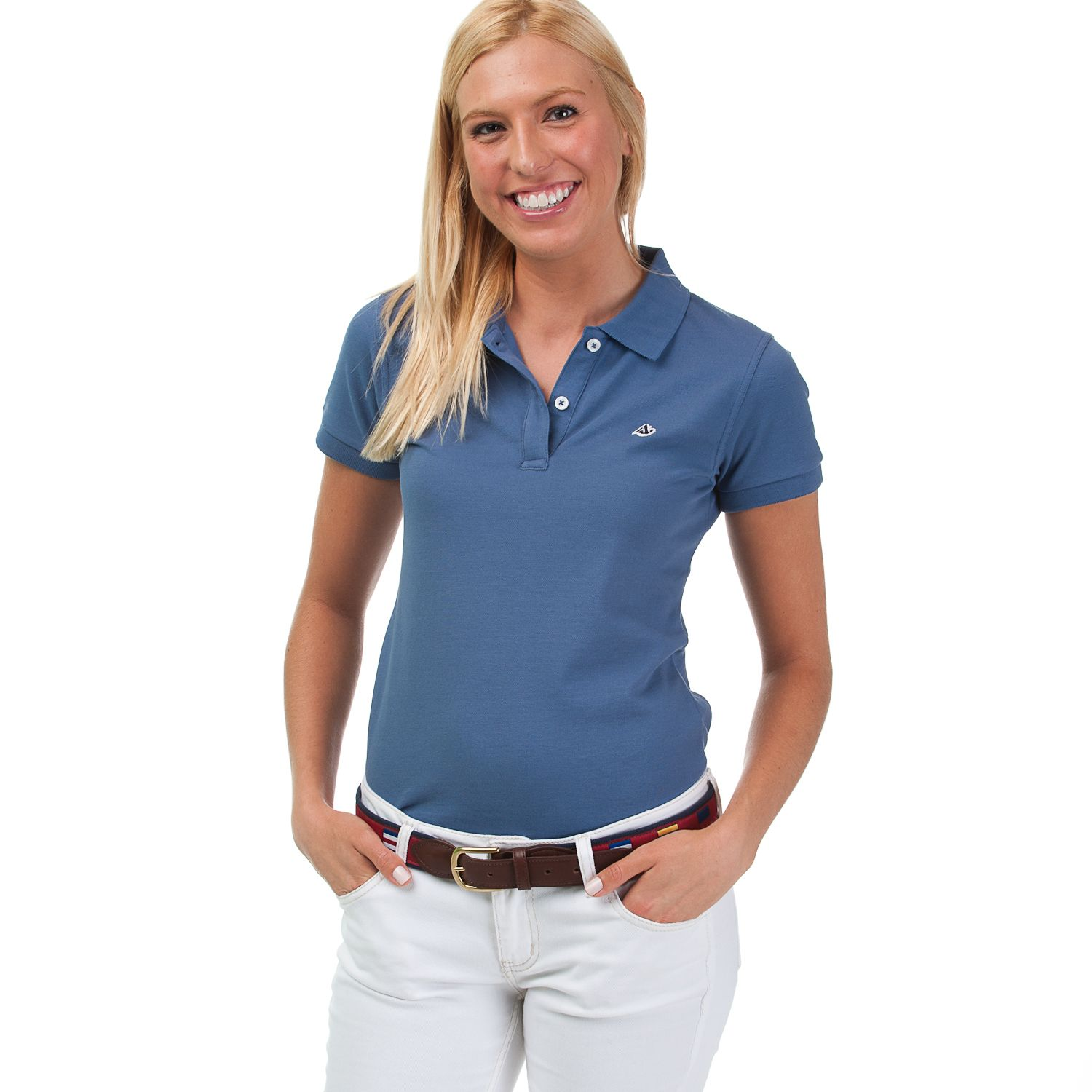 c5d34fc4 Sailors Navy Ladies Polo by Anchored Style | Everyday outfit | Polo ...