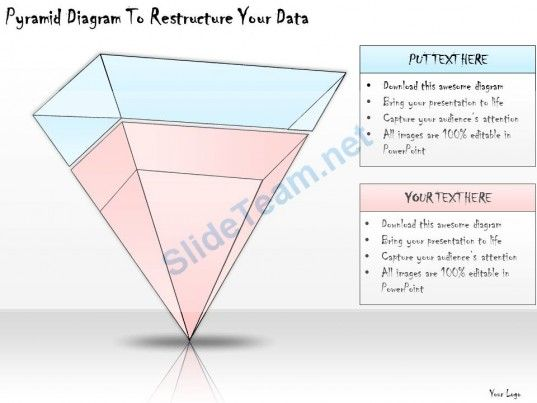 1113 Business Ppt Diagram Pyramid Diagram To Restructure Your Data - pyramid template