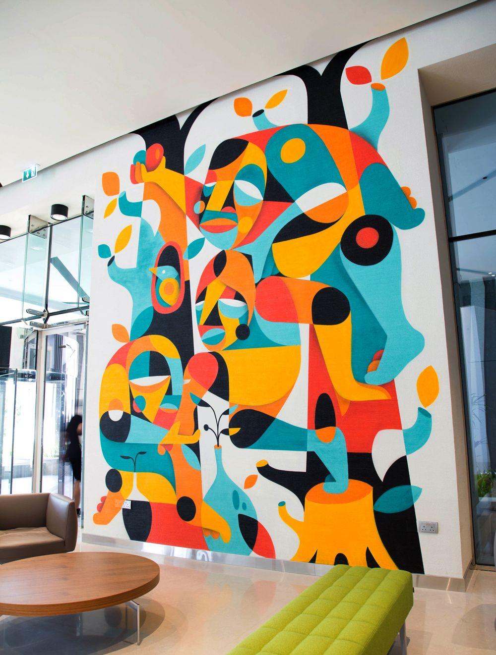 Color art dubai - Ruben Sanchez Artworks Zoonchez Photo