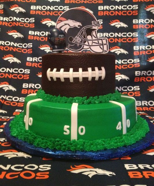 Football Seattle SeahawksDenver Broncos Birthday Party Ideas