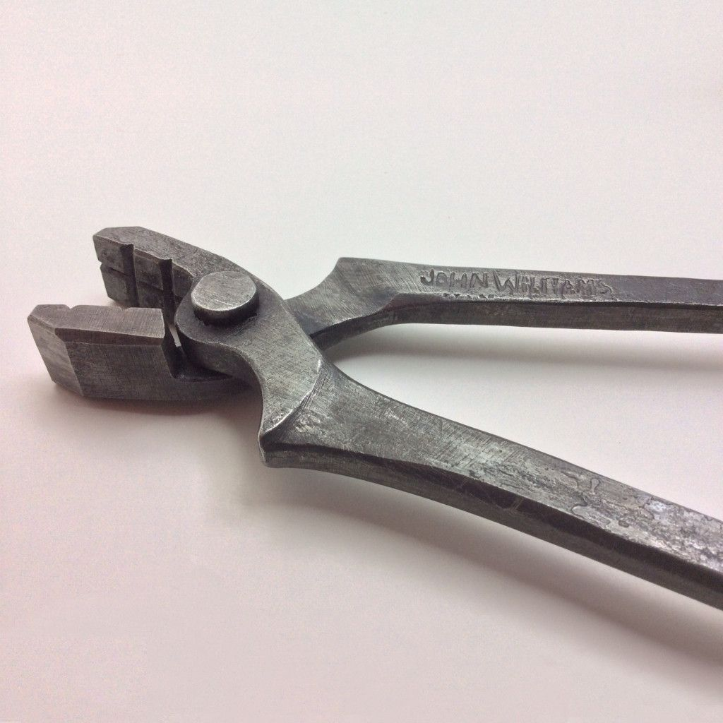 14 fire or farrier blacksmithing  tongs Forge hand tools.