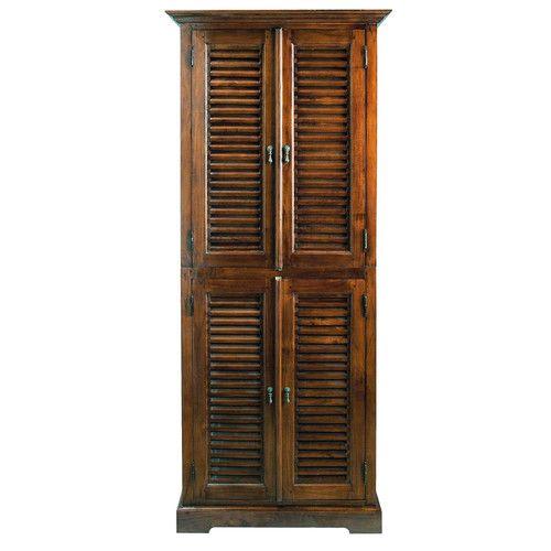Schrank Aus Massivem Teakholz B 85 Cm Key Largo Teak Holz Teak Und Holz