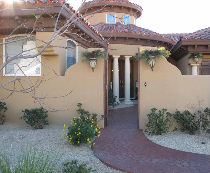Spanish Style Exterior Paint